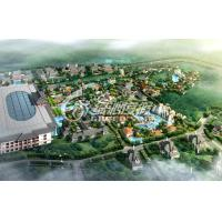 Wholesale Water Park Project Design with Fiberglass Space Bowl Water Slide , Hotspring Resort Project from china suppliers