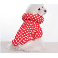 Wholesale Chihuahua Red Cute 100% Cotton Personalised Dog Hoodies from china suppliers