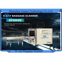 Wholesale Dual Energy Tube X Ray Baggage Scanner Machine For Bank , Hotel , Airport from china suppliers