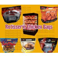 Wholesale Grease proof Hot Roast Chicken Bag, Rotisserie Chicken Bags, Microwave Grilled Chicken bag from china suppliers