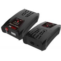 Wholesale RC Hobby 60 Watt H6 DUO AC/DC RC NiMh Battery Charger For 2 X 6 Cells Lipo Battery from china suppliers