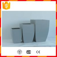 Wholesale High strength light weight waterproof outdoor fiber clay garden pottery for home from china suppliers