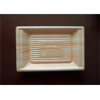 Wholesale Fast Food Serving Plastic Packaging Trays With Prolong Shelf Life , Heat Resistance from china suppliers