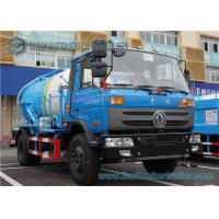 Wholesale 180hp 4x2 Diesel Vacuum Tank Truck 12000 Liter For Sucking Waste from china suppliers
