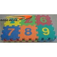 Wholesale Eco-friendly 123 number Alphabet Mat from china suppliers