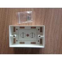 Wholesale USA Type Flush Mount Face Plates Back Box 70 × 115MM RJ45 Module from china suppliers