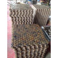 Wholesale copper mosaci tiles with 304 stainless steel from china suppliers