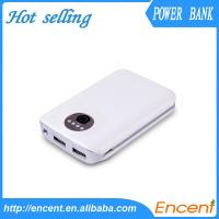 Wholesale 2013 New Colorful Popular Dual USB 6600mAh Power Bank With High Quality Battery from china suppliers