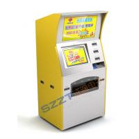 Wholesale Custom Kiosks ZT2411 Self - Service Lottery / Gaming Kiosk/ATM with advertisement from china suppliers