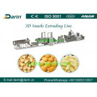 Wholesale Extruded Fried Snack 3D Flour Bugles Chips Making Machine 50HZ from china suppliers