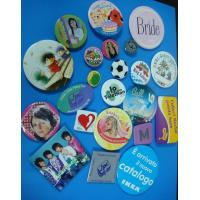 Wholesale magnet button, cloth button, button badge, light badge, printing badge, tinplate bagde from china suppliers