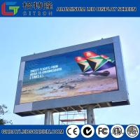 Wholesale High Definition 16 Bits Outdoor Advertising Led Display P6 Low Power Consumption 120w / Sqm from china suppliers
