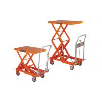 Wholesale Color Customized Hydraulic Table Lift , Mobile Scissor Lift Table For Insulating from china suppliers