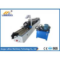 China Hat Channel Light Steel Keel Roll Forming Machine High Production Efficiency on sale