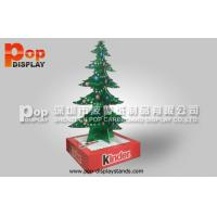 Wholesale Cardboard Advertising Standee CMYK Printing Color Chrismas Tree Style Display from china suppliers