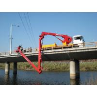 Wholesale Dongfeng 6x4 Bucket Type Bridge Inspection Equipment , bridge inspection platform 16m 270HP from china suppliers