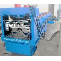 Wholesale Top Roofing Ridge Cap Roll Forming Machine Shanghai from china suppliers
