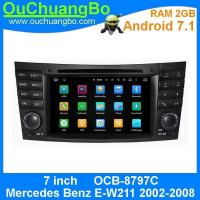 Wholesale Ouchuangbo In Dash dvd radio multimedia android 7.1for Mercedes Benz E-W211 2002-2008 with2G RAM 3G Wifi SWC 1024*600 from china suppliers