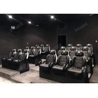 Wholesale Flat / Arc / Globular Screen 9D Movie Theater With Electric Motion Chair from china suppliers