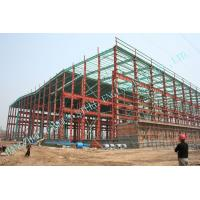 Wholesale Q235,Q345 Prefab Industry Steel Building Customized Workshop, Warehouse from china suppliers
