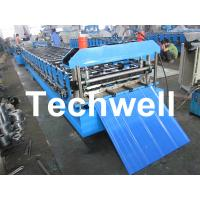 Wholesale Metal Automatical Roof Panel Cold Roll Forming Machine with 0 - 15 m/min Speed from china suppliers