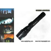 Wholesale 10W Rechargeable Led Flashlight For Hunting / Hiking / Camping / Fishing from china suppliers
