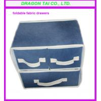 Wholesale Fabric Foldable drawer, foldable storage drawers, storage case from china suppliers
