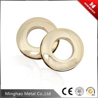 Wholesale Small handbag eyelets,custom metal round eyelets with light gold from china suppliers