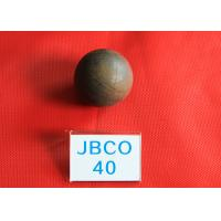 Wholesale B2 D40MM Grinding Media Steel Balls High Core Hardness 56 - 59hrc for Mines from china suppliers