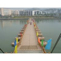 Wholesale Pedestrian Floating Pontoon Trestle Bridge , Military Floating Bridge from china suppliers