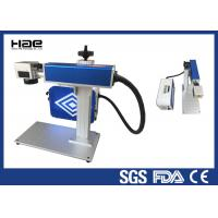 Wholesale Easy Maintenance Fiber Laser Marking Machine For LED Lamp Cup CE Certificated from china suppliers