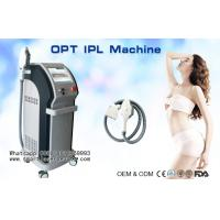 Wholesale Vertical E-Light IPL Beauty Machine For Hair Removal , Vascular Removal , Acne Treatment from china suppliers