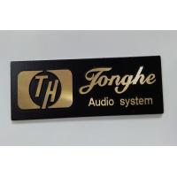 Wholesale Eco Friendly Aluminum Alloy / Nickel Customized Name Plates / Label from china suppliers