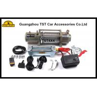 Wholesale 12000Lbs Heavy Duty Winch Off Road Recovery Winch 4X4 Recovery Kit from china suppliers