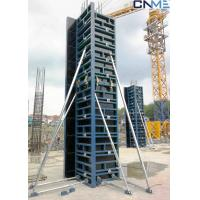 Wholesale SF63 Rectangle / Square Shaped Column Formwork For Concrete Light Weight from china suppliers
