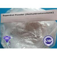 Wholesale Superdrol Prohormone Anabolic Androgenic Steroids For Lean Muscle Building 3381-88-2 from china suppliers