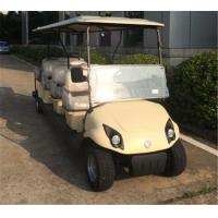 Wholesale Custom Eco Friendly Electric 8 Seater Golf Cart With Rear Flip Flop Seat from china suppliers