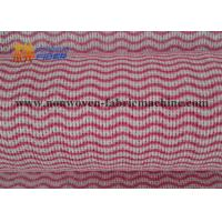 Quality Wood Pulp Spunlace Non Woven Fabrics For Househeld Kitchen Wipes Harmless for sale