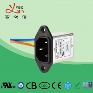 China Yanbixin Washing Machine Inline EMI Filter , EMI EMC Noise Filter OEM Service on sale