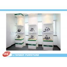 Buy cheap Custom Logo White Green Wooden Display Racks from wholesalers