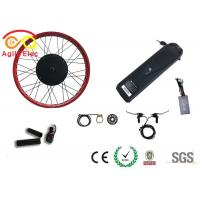 Wholesale Durable Fat Tire Electric Bike Conversion Kit With Axle Front 135mm / Rear 170mm from china suppliers