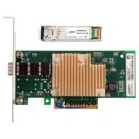 Wholesale Femrice 10G Gigabit Ethernet Server Interface LAN Card Single SFP+ Fiber Port INTEL 82599 Chipset With MM Transceiver from china suppliers