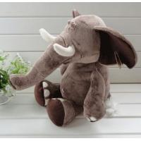 Wholesale Stuffed toys Elephant 25'' tall, Plush toys,Zoo animals,lovely Toy Gift for Zoo park from china suppliers