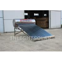 Wholesale 15 tubes stainless steel low pressure vacuum tube solar water heater from china suppliers