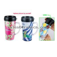 Wholesale DIY double wall plastic mug from china suppliers
