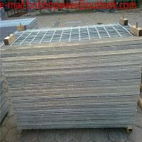 Wholesale 25x3 Electro Galvanized Building Material 304 Press Welded Steel Grating/Free Sample building materials galvanized steel from china suppliers