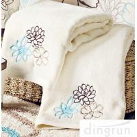 Wholesale OEM Customized 100% Cotton Hand Wash Towels , 30*60cm Eco-friendly from china suppliers