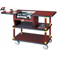 Wholesale Hotel Serving Trolley with Gas Stove for Coffee Making from china suppliers