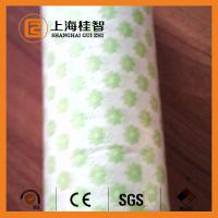 Wholesale Breathable Spunlace Non Woven Cloth , Apertured Rayon Multipurpose Wiping Cloth from china suppliers