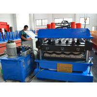 Wholesale 7.5Kw Main motor power Roof Tile Roll Forming Machine with 12-15m/min from china suppliers